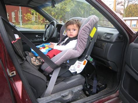 car seats in the front passenger seat front seat safety carseat se