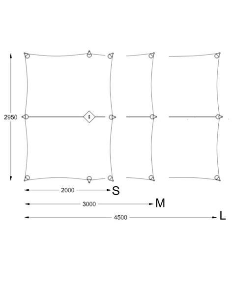 Wilderness Equipment Standard Overhang Tarp - Grey by
