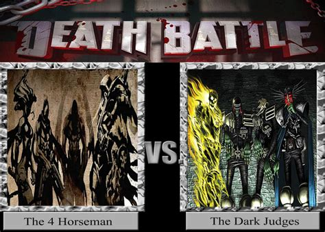 dark judges wallpaper death battle idea no 10 4 horseman vs dark judges by