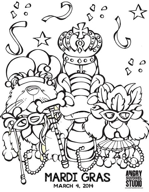coloring pages mardi gras az coloring pages