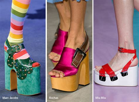 Trend Platform Shoes by Summer 2017 Shoe Trends Fashionisers