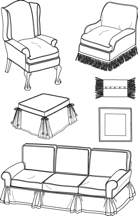sofa slipcover pattern for sewing simplicity 5383 sewing pattern sofa wing club chair