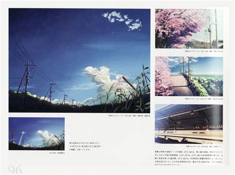 Artbooks Makoto Shinkai The Sky Of The Longing For