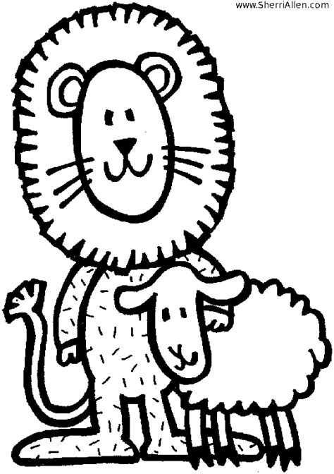 march lion coloring page lion and lamb clipart clipart suggest