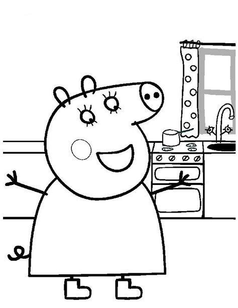 peppa pig thanksgiving coloring pages how to draw peppa pig az coloring pages