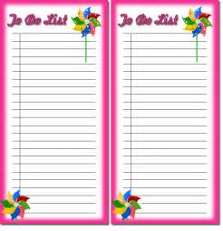To Do List Template For Kids Free Children S To Do List Printables 4 Download Free To
