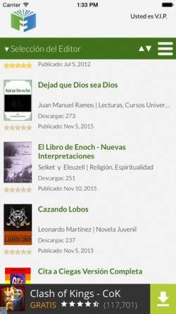 app para descargar libros gratis en espanol android app para descargar libros gratis top apps ios android