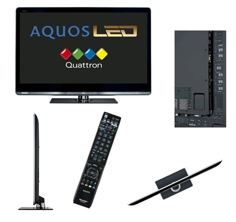 Tv Led Sharp Quos sharp aquos quattron 60 le 822 edge led tv lcd 153cm 100hz hdd expansys uk
