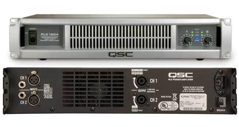 Ads A 850 4 Lifier 4 Channel user reviews qsc plx1804 audiofanzine