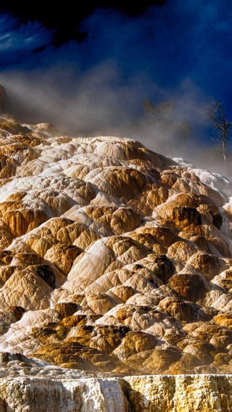 4k wallpaper yellowstone wallpaper mammoth hot springs 4k hd wallpaper