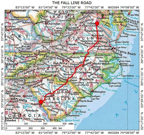 road map of virginia and carolina historic roads trails paths migration routes virginia