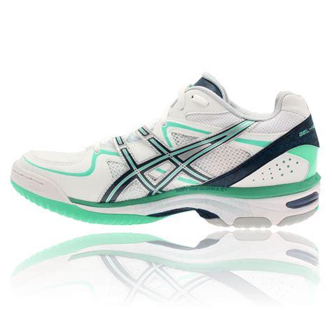 Sepatu Asics Gel Netburner Asics Womens Gel Netburner 16 White Netball Court Sports