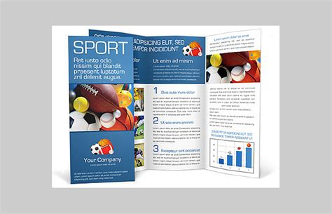 Sports Brochure Templates brochure template for sport sle of sport brochure