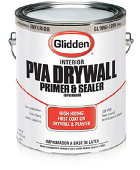 home depot paint sales rep glidden 174 pva drywall primer builders paint