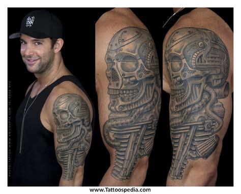biomechanical tattoo san francisco biomechanical tattoos skulls 5
