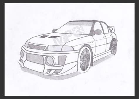 mitsubishi evo drawing image gallery mitsubishi drawing