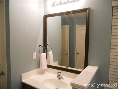 cheap bathroom mirrors with lights bathroom mirror photo