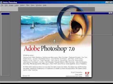 tutorial adobe photoshop 7 0 untuk pemula adobe photoshop 7 0 tutorial introduction of adobe