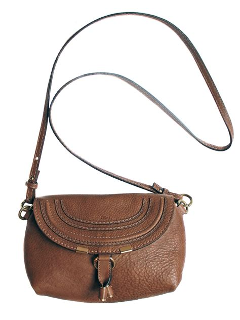 louise marcie small crossbody bag in nut