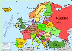 map usa to europe european geography eirimois teaching