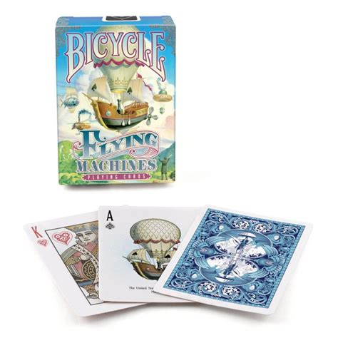 Flying Machine Gift Card Buy - 1 deck bicycle flying machines standard poker playing cards brand new deck ebay