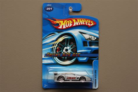 Hotwheels 575 Gtc wheels 2006 collector series 575 gtc silver