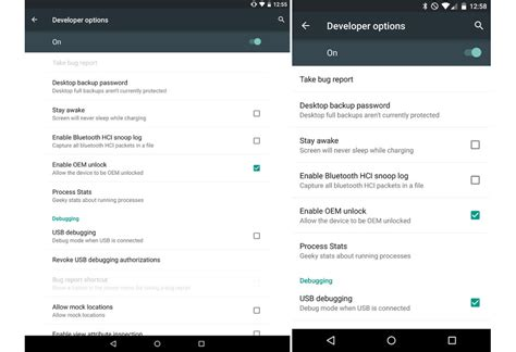 android developer options fyi android 5 0 introduces quot enable oem unlock quot option in developer options droid