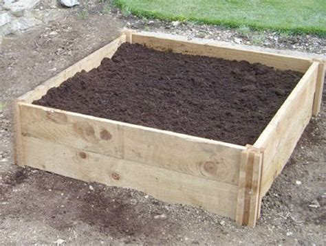 how deep should a raised garden bed be deep single raised bed 90cm x 90cm x 30cm deep wooden