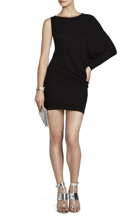 laheld one sleeve tunic dress