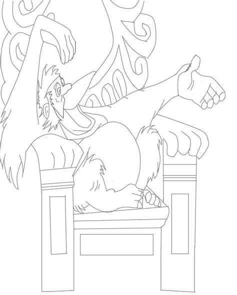king vulture coloring page vulture coloring pages kids coloring