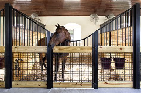 Modern Home Design With A Low Budget by Stall Front Systems Horse Stalls Barn Doors Stables
