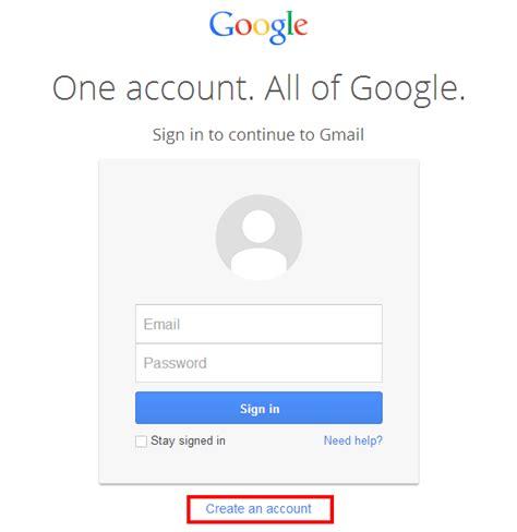 cara membuat email di gmail milik google mudah lengkap gambar cara mudah membuat email gmail