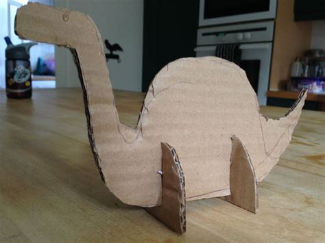 How To Make A 3d Dinosaur Out Of Paper - dinosaur days cardboard dinosaur models symonds and sons
