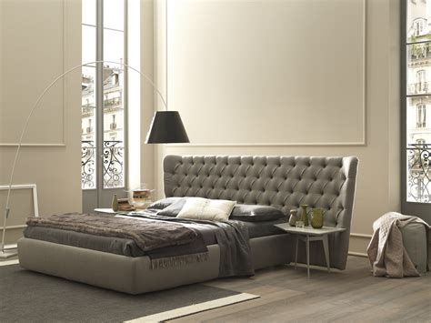 Large Headboard Beds Bed With Tufted Headboard Selene Large By Bolzan Letti