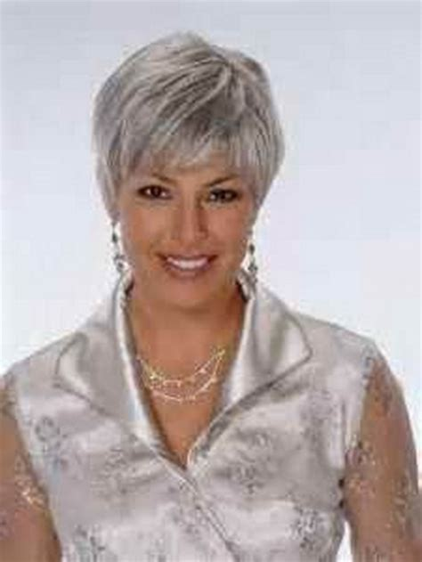 gray hair styles for 50 plus foil highlights grey hair dark brown hairs