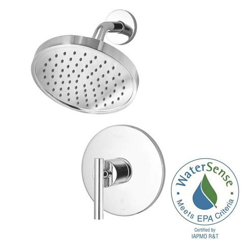 Shower Faucet Temperature by Pfister Contempra Single Handle 1 Spray Shower Faucet With Temperature And Volume In