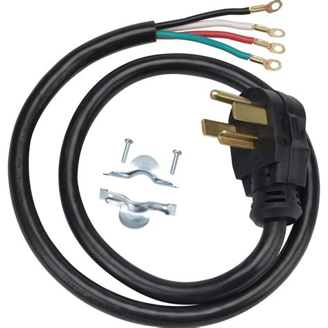 ge 4 ft 4 prong 30 dryer cord wx09x10018ds the home