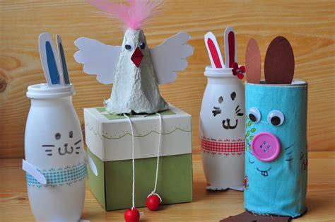 Basteln Mit Kindern Zu Ostern by Oster Basteln Mit Kindern Einfache Diy Ideen Mit Hasen