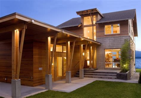 pacific northwest home design plans home door design modern columns design entry farmhouse with open plan