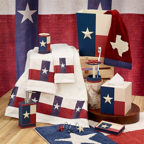 texas star bathroom decor texas star bath accessories set avanti linens