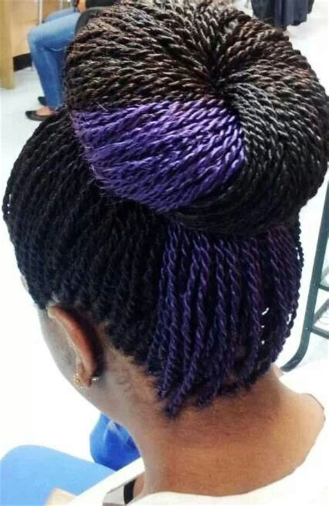 senegalese twists color the gallery for gt senegalese twists with purple