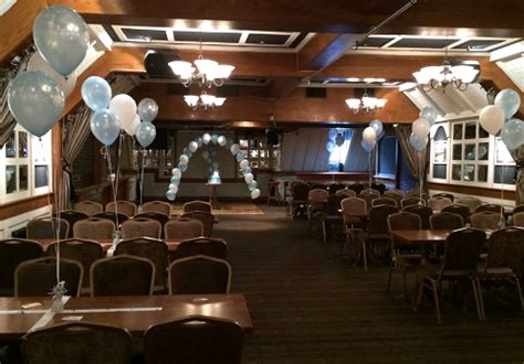 Boys Halfway House by Christening Helium Balloon Packages Decorations