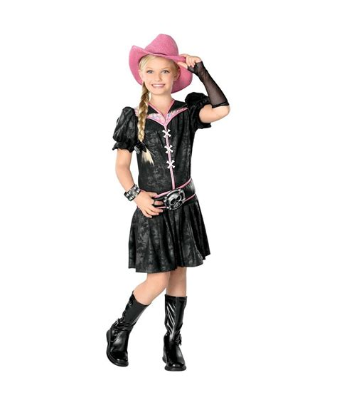Rockabilly Kids Cowgirl Costume   Girls Costume