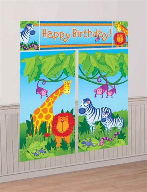 Decoration Animaux De La Jungle by D 233 Coration Anniversaire Animaux De La Jungle Mister