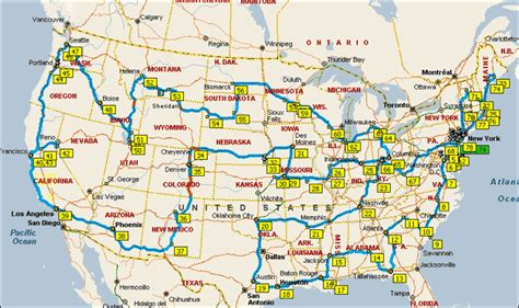 ultimate road trip usa usa road trip go through every state in the continental