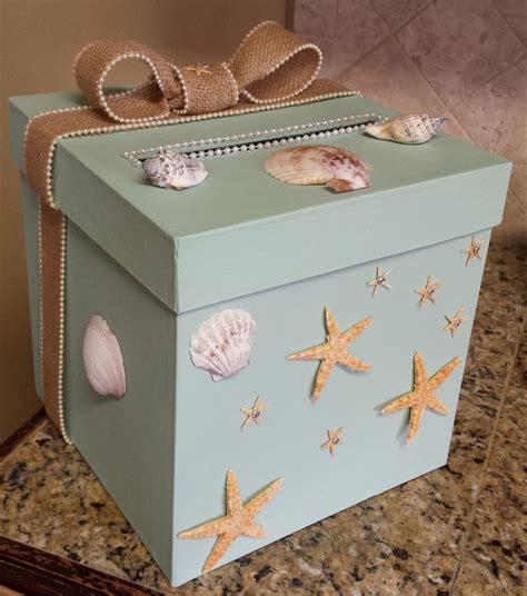 themed gift box ideas under the sea ocean beach money gift card one tier box for a