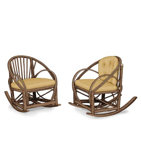 rustic rocking chair pads 22 best images about rustic rocking chairs by la lune