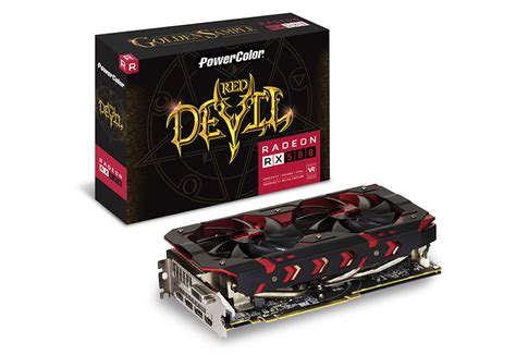 Powercolor Rx 570 8gb Ddr5 powercolor golden sle radeon rx 580 8gb gddr5 ban leong technologies limited