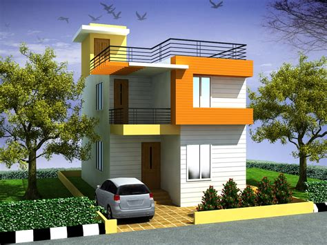 awesome small duplex house designs best house design