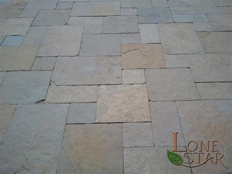 Slate Patio Pavers Slate Pavers In Versailles Pattern In Paradise Valley Az Www Lonestaraz Textures And